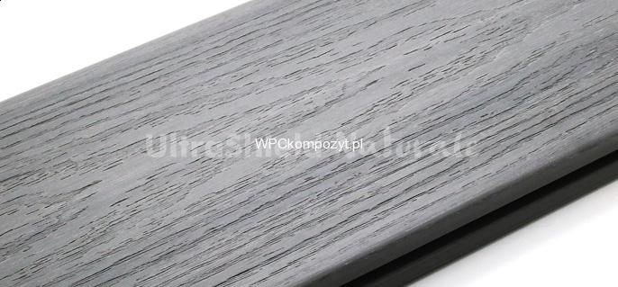 Deska Tarasowa Eco Premium Wpc 138x22mm Kolor Jasny Szary Kompozyt Drewna Uh0