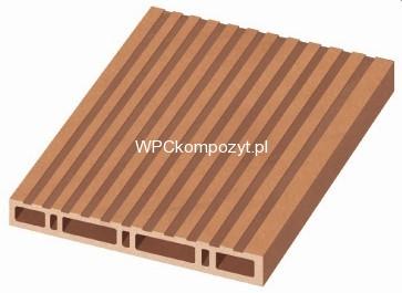 Deska Na Balustrady I Ogrodzenia 220x25mm H 1mb Poldeck Wpc Kompozyt Drew