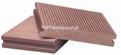 Deska Tarasowa Poldeck Wpc Kompozyt Drewna 140x25mm C Pełna 1mb