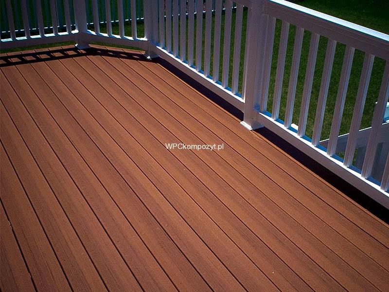 Deska Tarasowa Premium Wpc 138x22mm 1mb Ryflowana Kolor Teak Kompozyt Drewna Uh07 H2