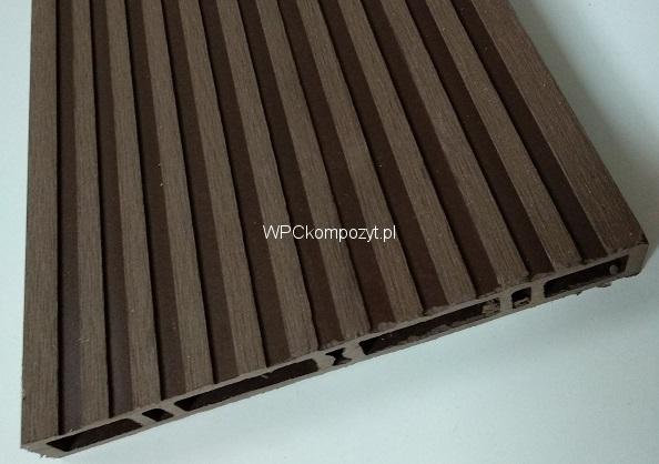 Deska Na Balustrady I Ogrodzenia 140x23mm H 1mb Poldeck Wpc Kompozyt Drew